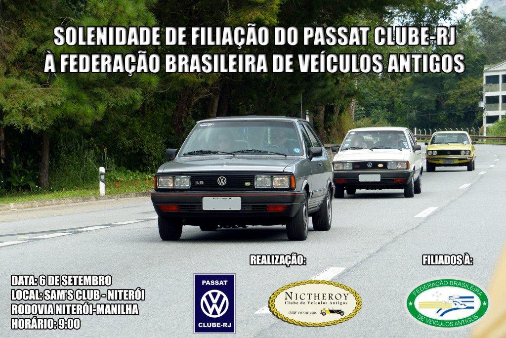 Solenidade de filiação do Passat Clube - RJ à Federação Brasileira de Veículos Antigos