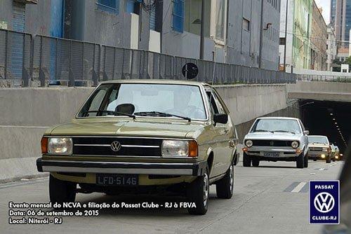 Carreata seguindo pelo Centro do Rio de Janeiro.