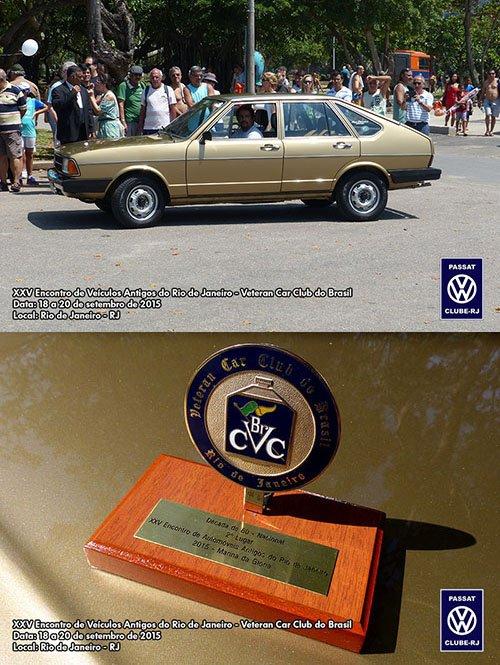 Passat LSE 1980 do Mário Silva sendo premiado como um dos destaques da década de 80.