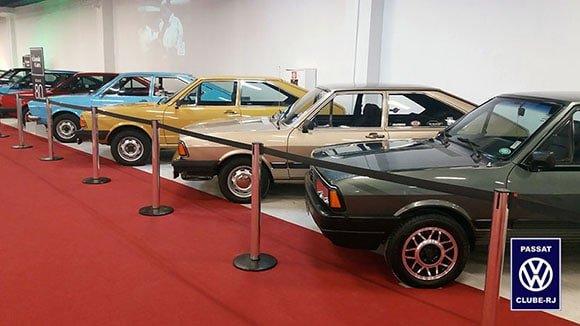 Os Passat na 2ª edição do Village Classic Cars
